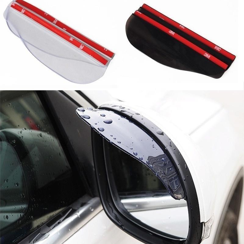 汽车后视镜雨眉 遮雨挡 雨眉(2片装) opp袋装?