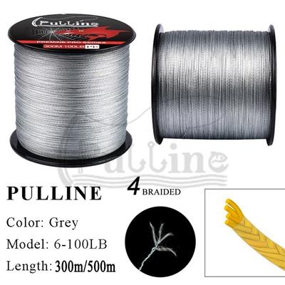 50m 7 Strands Fishing Wire Lines Braided Leader Coating String Trace Rig
