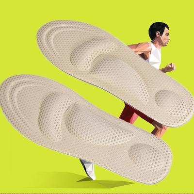 Details about  /1Pair Shoe Insoles 4D Universal Sole Sports Massage Mat Foot Inserts Support Pad