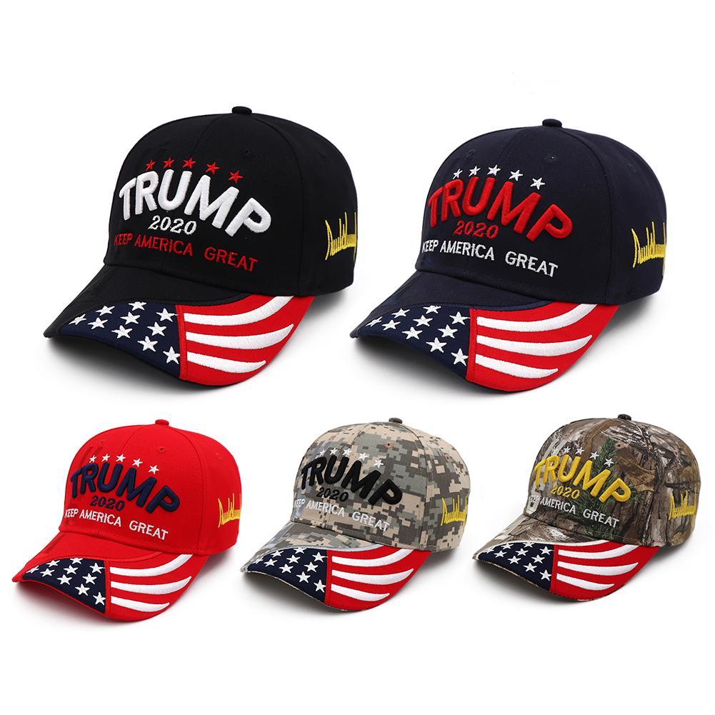 1 Pc President Donald Trump 2020 USA Flag Baseball Cap Hat Make America Great