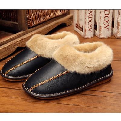 Men's Slippers Winter Slippers Non Slip