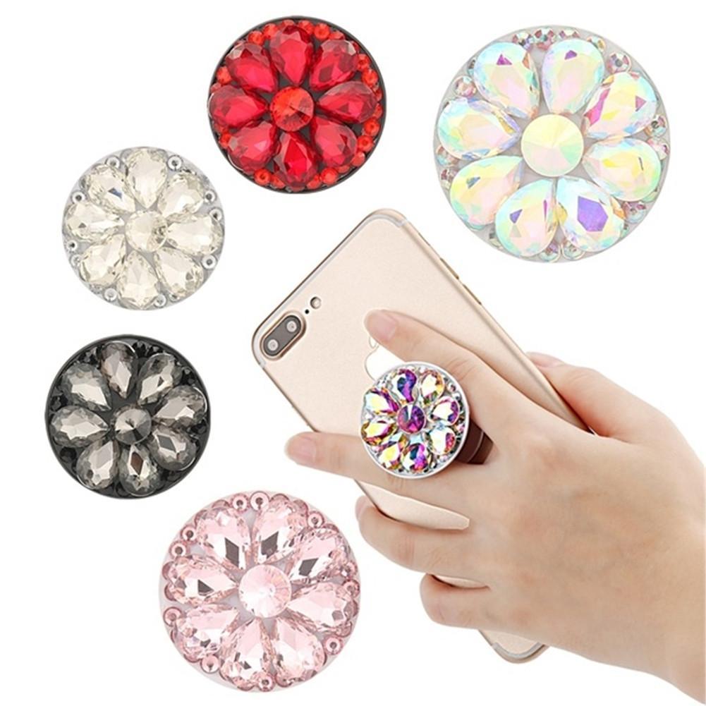 3D алмаза популярный телефон держателя палец кольцо телефона сцепление универсальный мобильный телефон кронштейн держателя