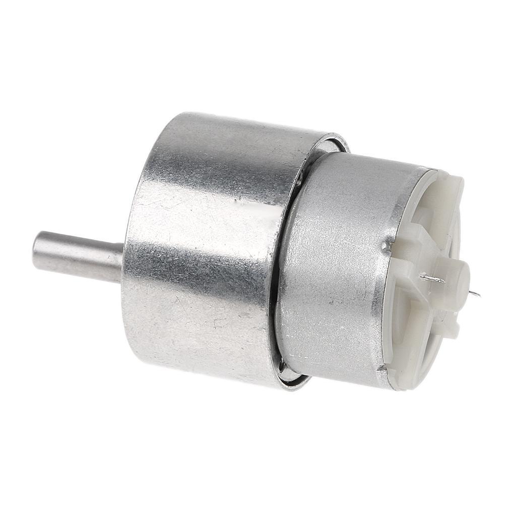 Dc 10rpm MagiDeal 12v Bo/îte De Vitesses Electrique Haut Couple Turbine Worm Gear R/éduction Moteur Dc /à Engrenages