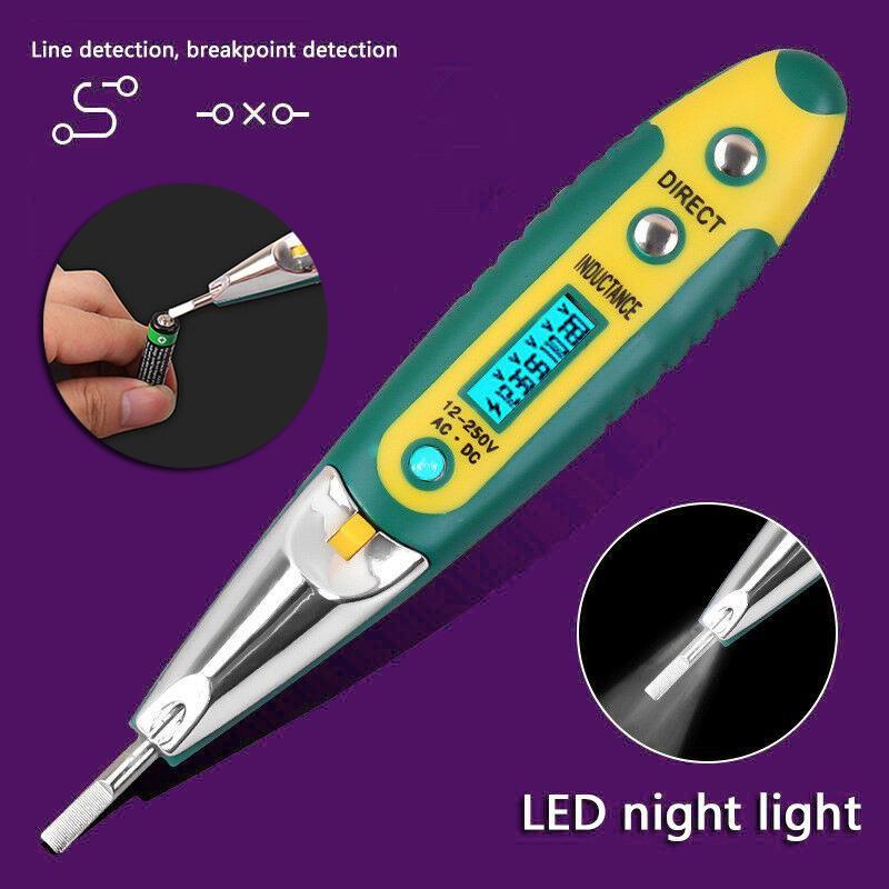 5-36V Car Electric Voltage Power Test Pen Non-Contact LCD Probe Detector 7E