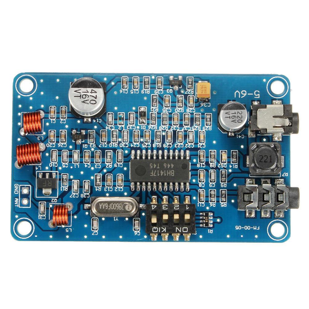 Bh1417 200m 05w Digital Radio Station Pll Wireless Stereo Fm Hot Sell Transmitter Pcbfm Receiver Circuit Board Buy 1 Of 4