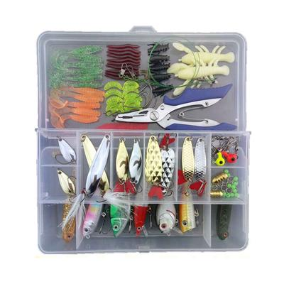 "20 Pieces 5.1/"" Artificial Soft Baits Sea Earthworm Lures Clamworm Trout Lure"