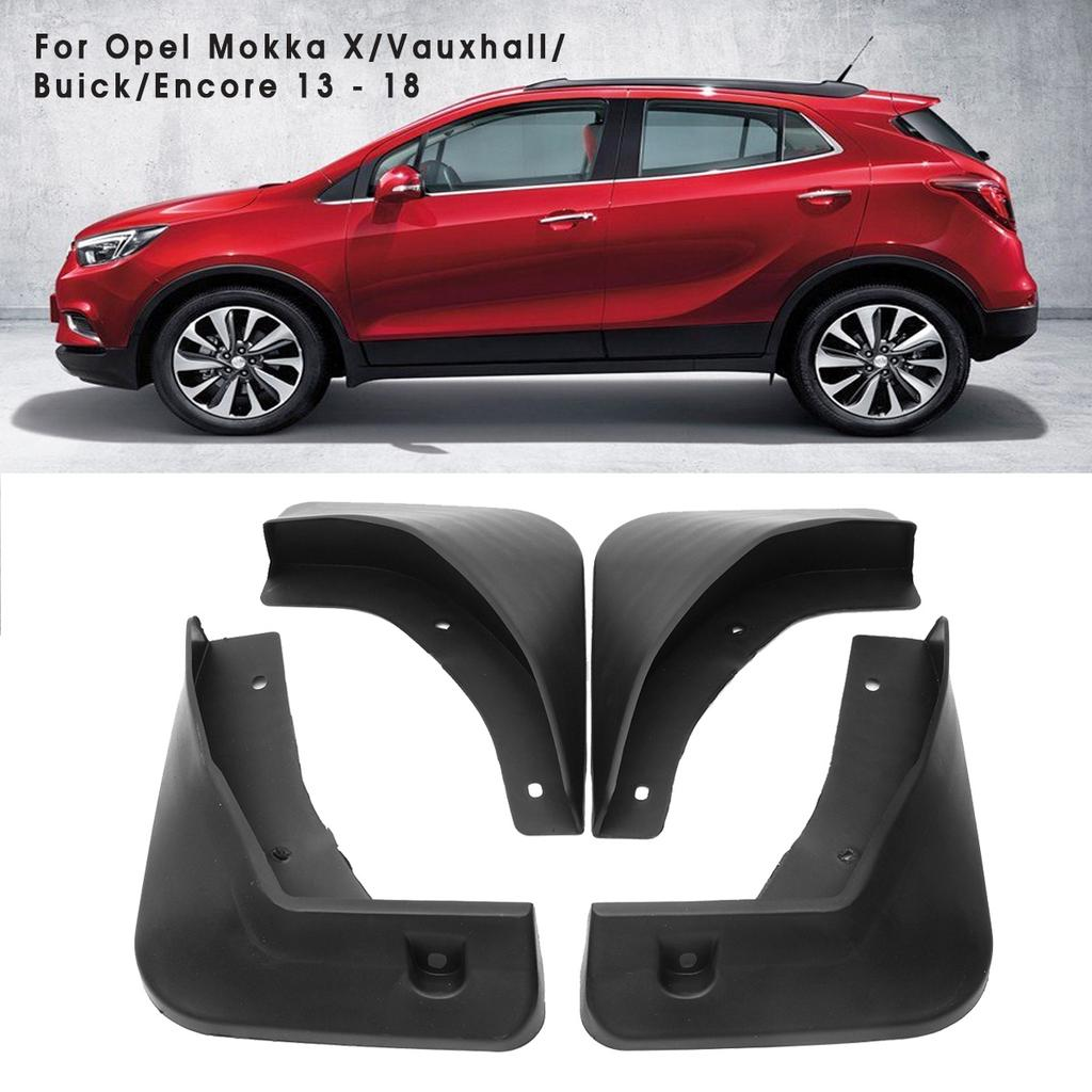 4 Mud Flaps Splash Guard Fender Car Mudguard for Buick Encore 2017-2018