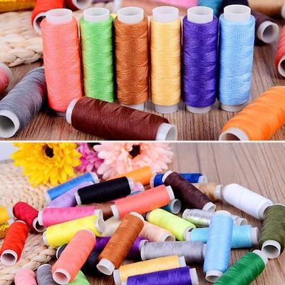 60 Different Colors 250 Yards Each as DIY Sewing Thread kit for Hand or Machine