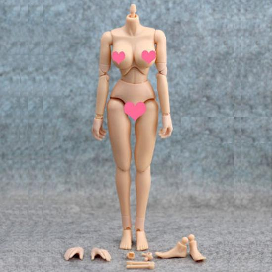 """12/"""" Action Figure 1//6 KUMIK CG CY Girl Female Doll Body Toy Rubber Skin Layer"""