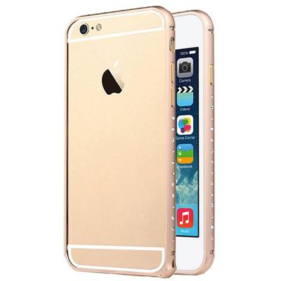 New Diamond Metal Aluminum Bumper Frame Hard Protect Cover For Apple iPhone 6