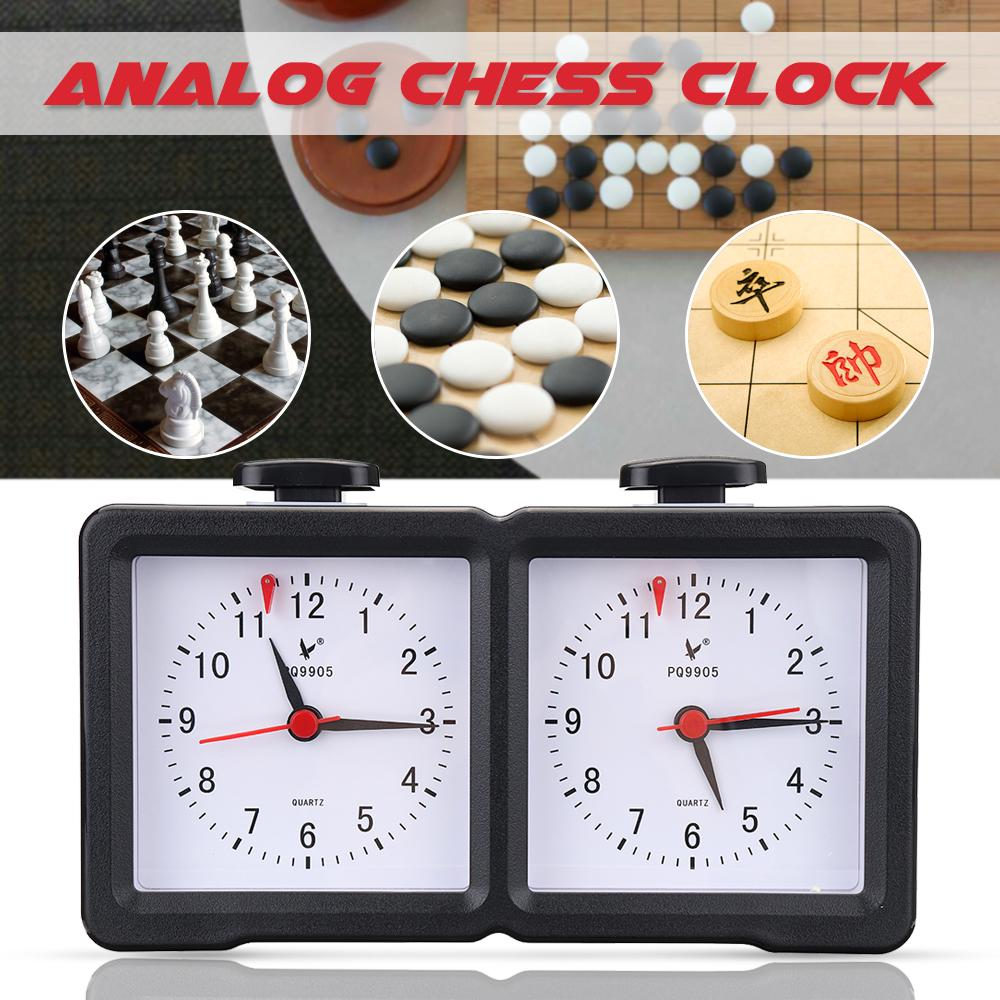 Quartz Analog Digital Chess Clock I Go Count Up Down Alarm Timer For Game Competition Watch Black Buy At A Low Prices On Joom E Commerce Platform