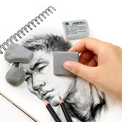 Fashionable Strong Adhesive Kneadable Cleaning Pencil Art Artists Drawing Rubber Eraser