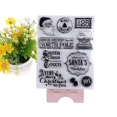 Transparent Stamp Silicone Stamp DIY Scrapbooking Embossing Paper Cards Home Decor Hot Air Balloon LANDUM Clear Stamp