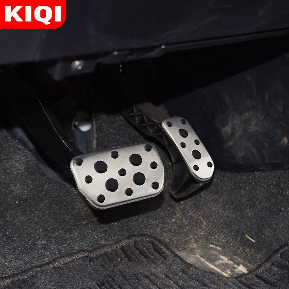 Car Brake Gas Pedals Cover For Toyota Camry  Highlander Land Cruiser Lexus ES AT