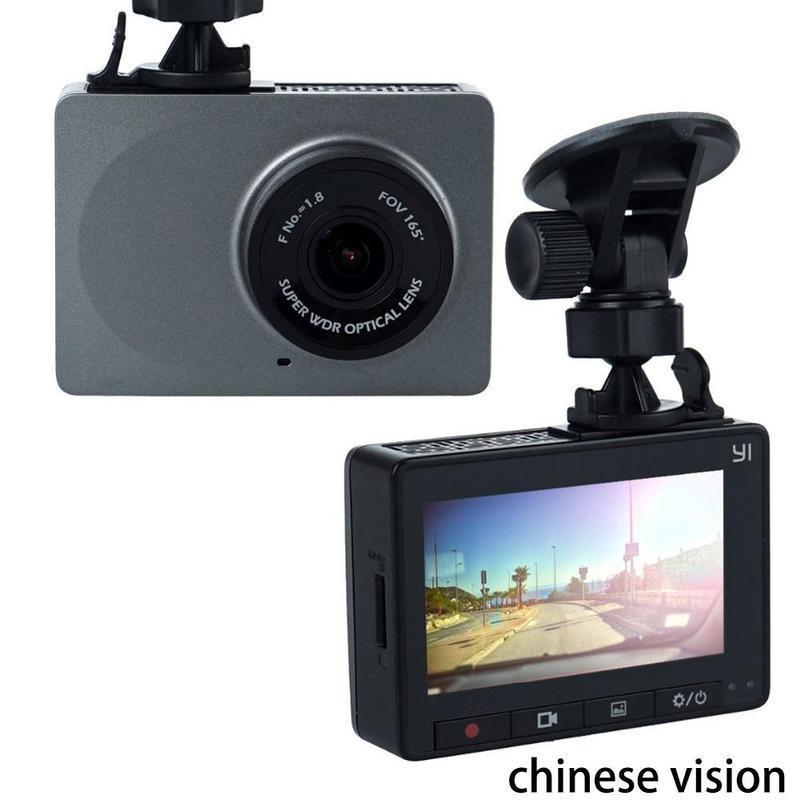 "Xiaomi YI Dash Camera 2.7/"" Screen Full HD 1296P Car DVR Vehicle Dash Cam ADAS"