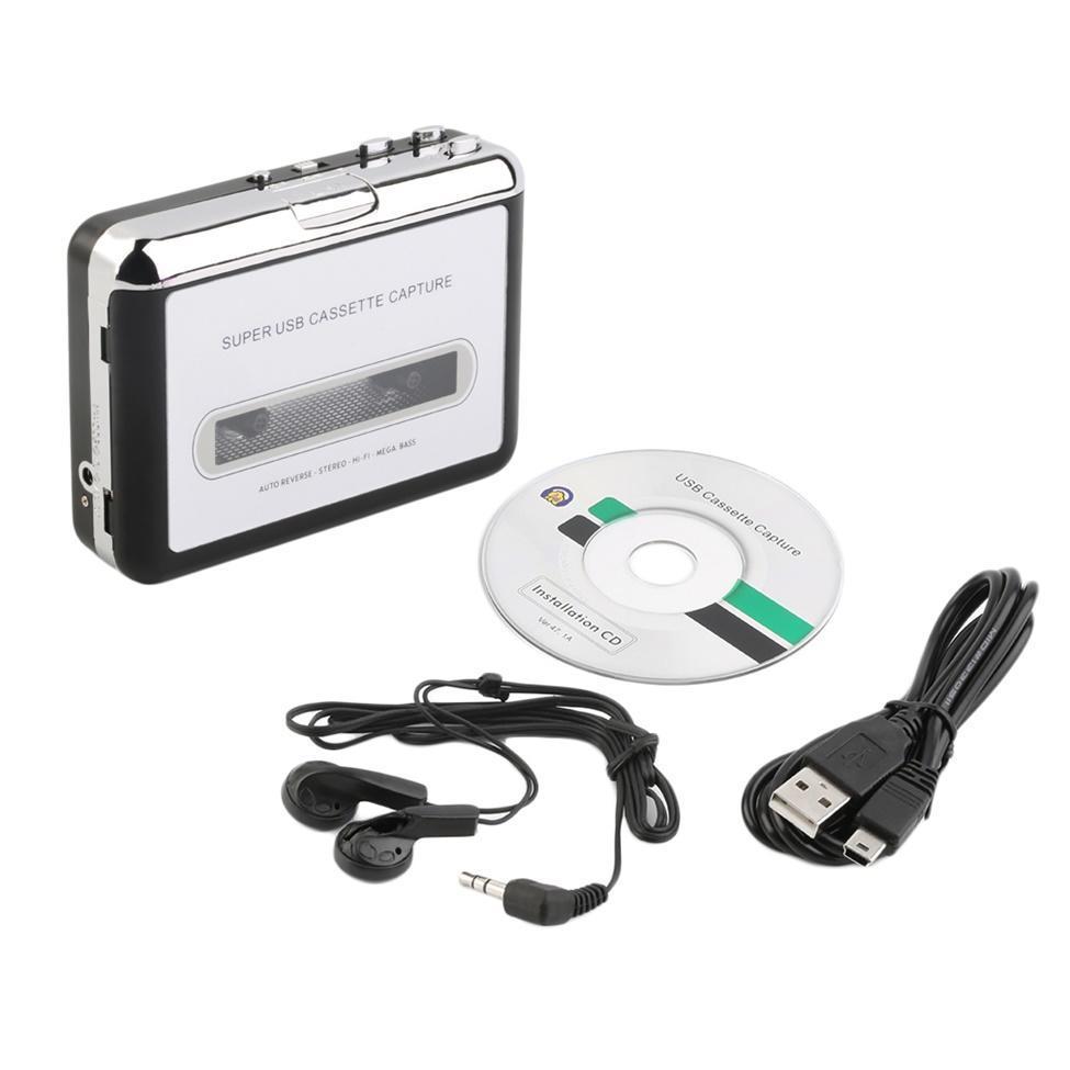 Heim-audio & Video Kopfhörer Unterhaltungselektronik Top Qualität Usb2.0 Tragbare Band Zu Pc Super Kassette Zu Mp3 Audio Musik Cd Digital Player Converter Capture Recorder