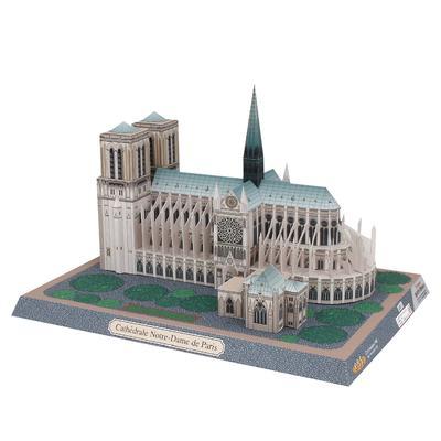 Cathedral Notre Dame DE Paris France Tourism Souvenir 3D Stereo Puzzle GIFT US