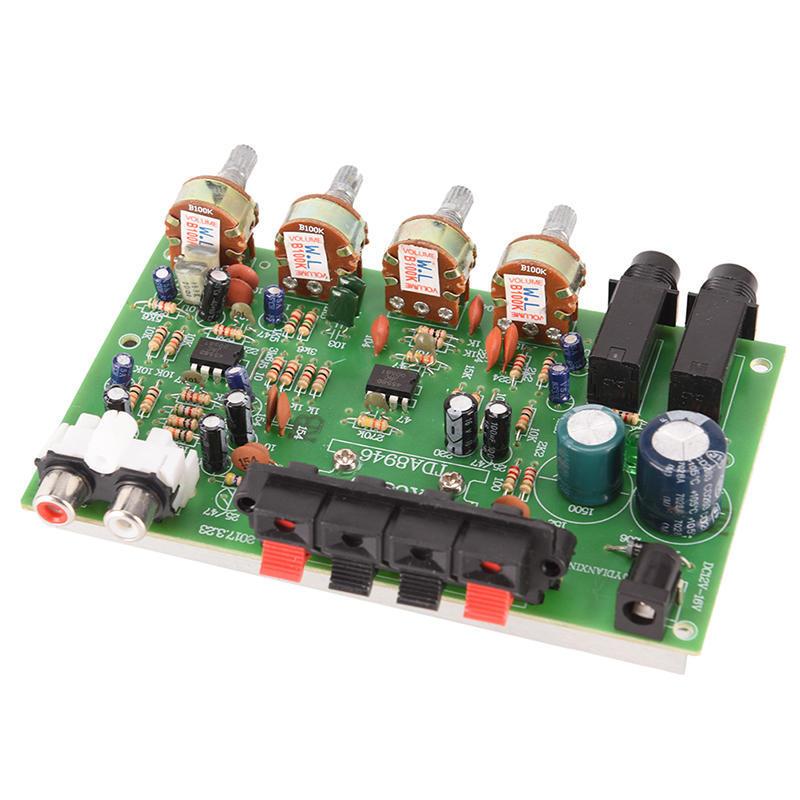 12V 60W стерео цифровой аудио усилитель плата электронная схема модуль питания  – купить по низким ценам в интернет-магазине Joom