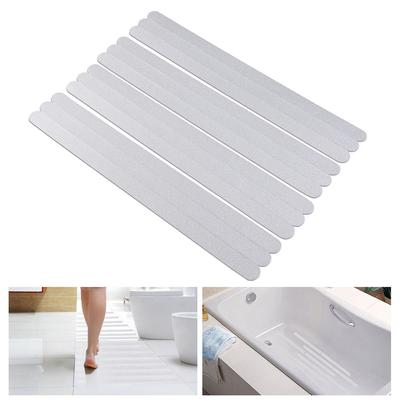 Applique Tub Flooring 6pcs Tub Shower Anti Slip Grip Stickers Safety Tape Bath