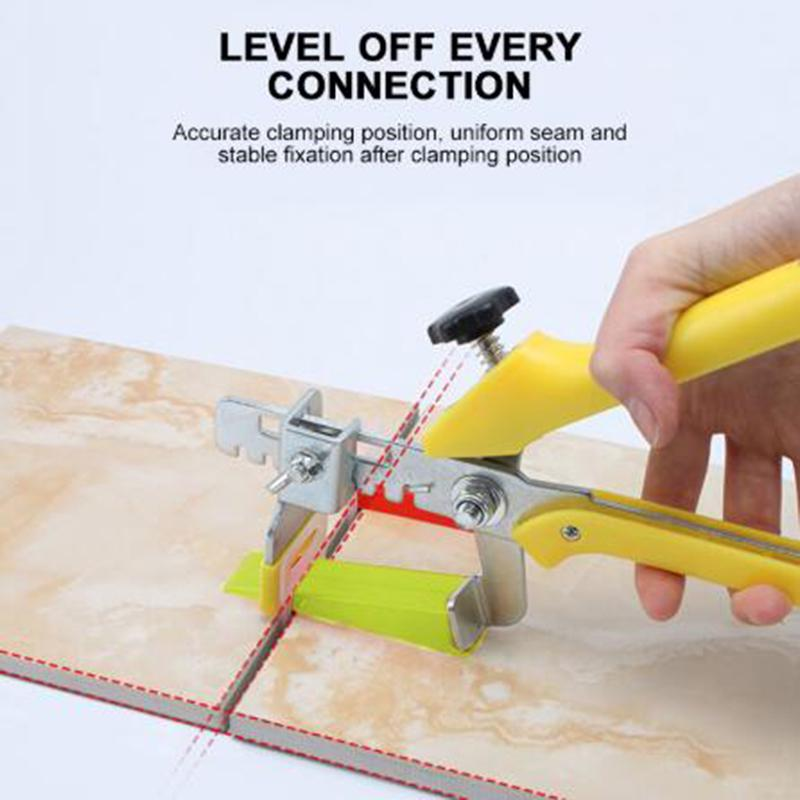 Clips//Wedges Tile Leveling System Floor Wall Spacer Tiling Tool Pliers Install