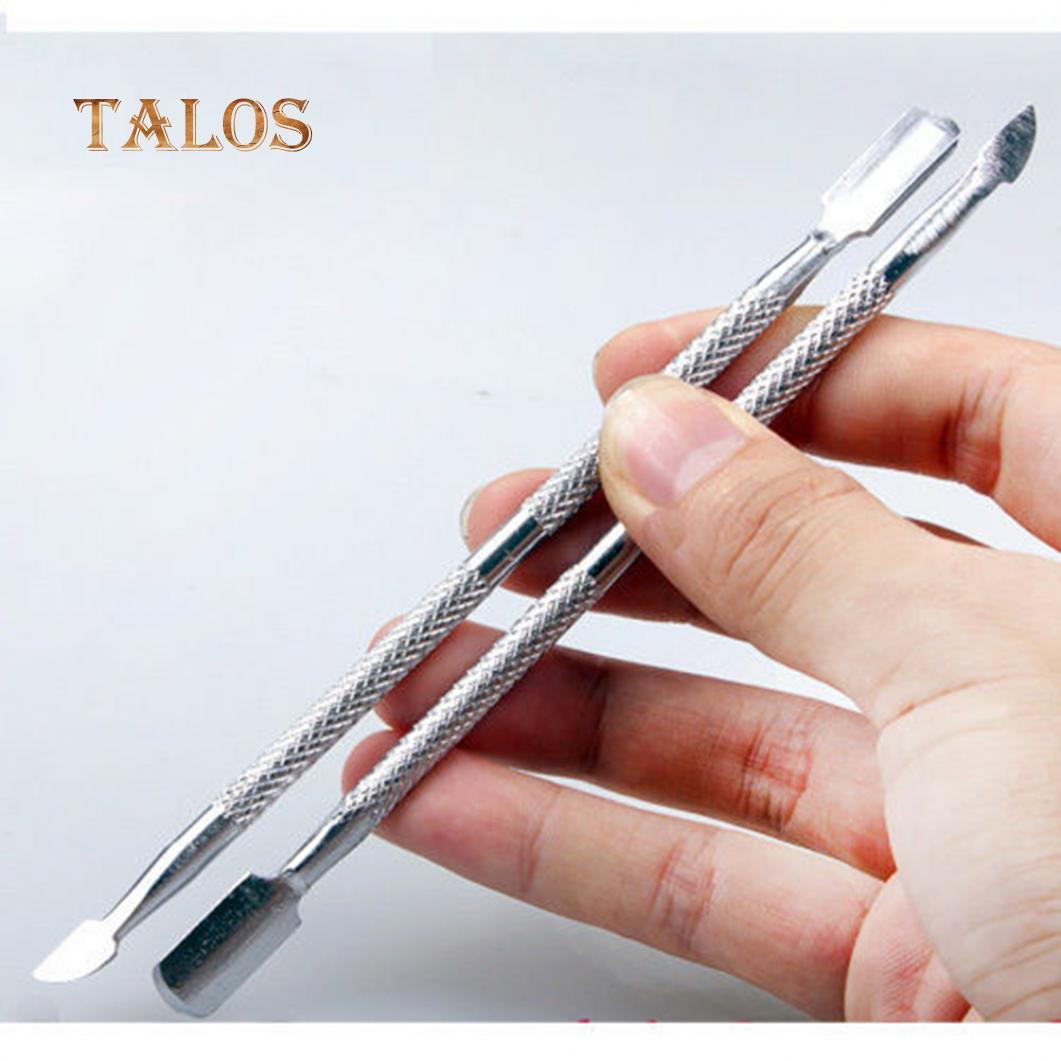 Кутикулы толкателя УФ-гель польский замочить Off Remover ногтей искусство маникюра триммер инструмент ухода за ногтями фото