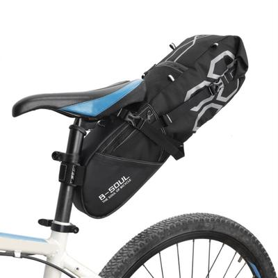 1x Outdoor Vintage Bike Bicycle Cycling Saddle Bag Seat Storage Tail Rear Pouch