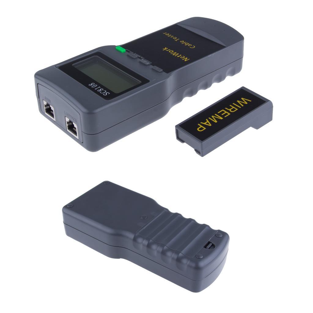 SC8108 RJ45 Netzwerk LAN Telefon Kabel Lage Tester Messgerät messen ...
