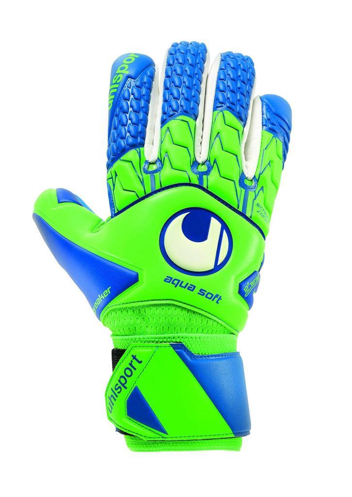 uhlsport Ergonomic Soft SF Goal Keepers Gloves Multi-Coloured Black//Orange