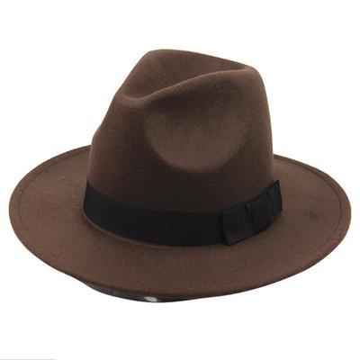 Lasperal Vintage Fashion Wool Women  S Cute Lady Hat Trendy Bowler Derby  Fedoras 9b8bd091ab3a