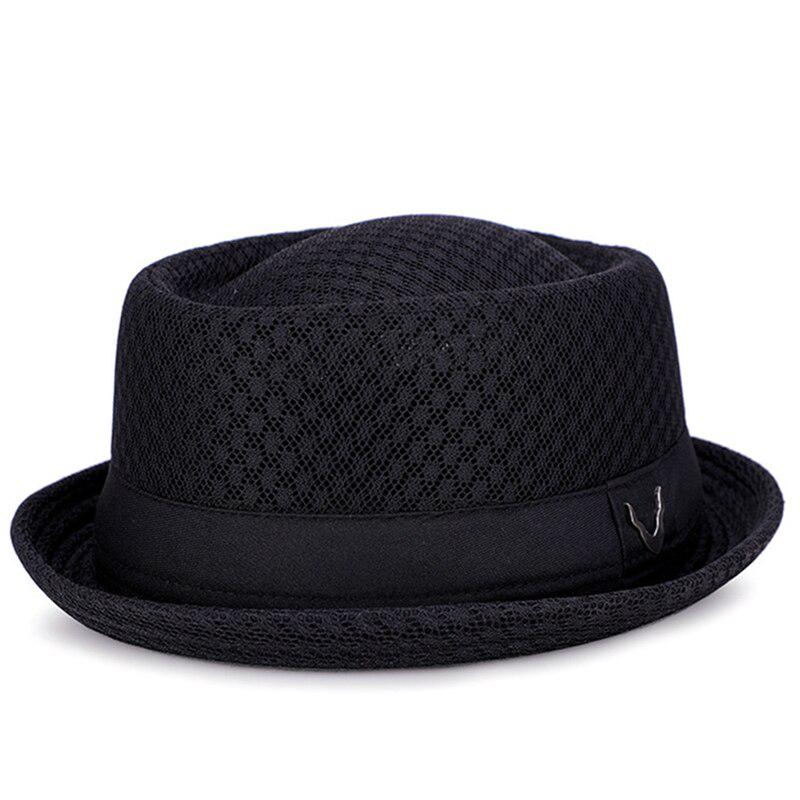 Youth-Song Mens Fedora Wool Feather Warm and Comfortable Adjustable Hats hat Man,Light Coffee,adult56-58cm