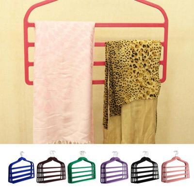 5Pcs Kleiderbügel Anzug Kleidung Hosen Hosen Schrank Rutschfeste  Platzsparende Halter