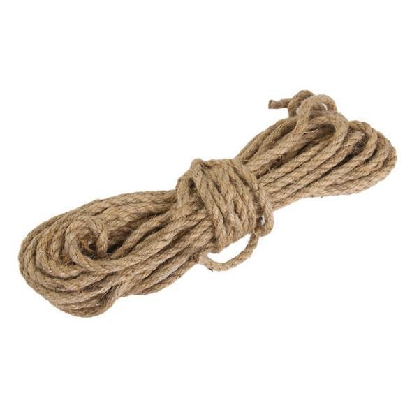 Brown YPSelected 100 Meters Colourful Hemp Natural Jute Twine Hessian String Cord 2mm