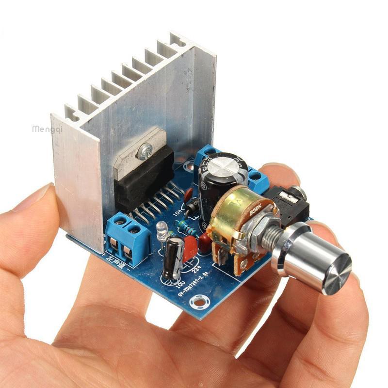 Maijiabao TDA7297 AC/DC 12V 2'15W Цифровой аудио усилитель Двойной канал Модуль совета 5pcs tda7297 zip new and original ic free shipping
