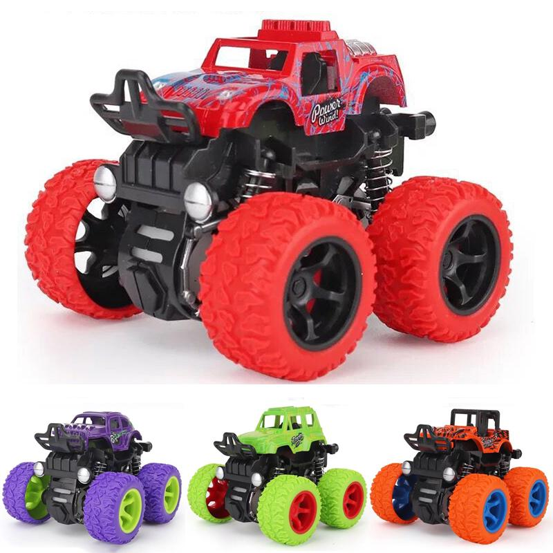 9pcs Children Pull Back Engineering Vehicle Excavator Kid Excavator Car Toy Gift