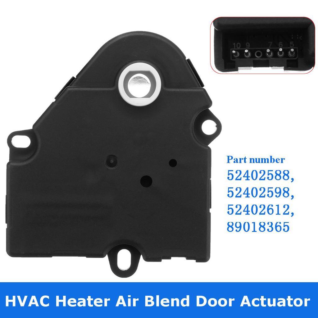 AC Heater Heat Blend Door Actuator for Chevrolet GMC 52402588 89018365 1572971