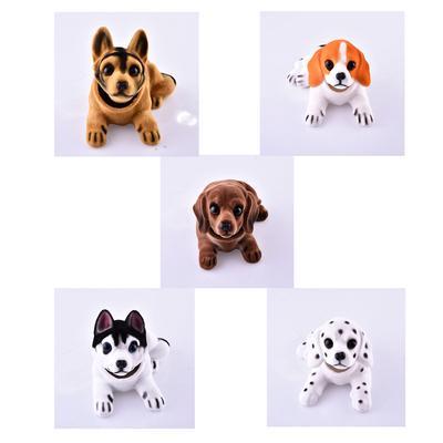 Fun Shaking Bobble Head labrador Dog Doll Car Dashboard Home Office Decor Gift