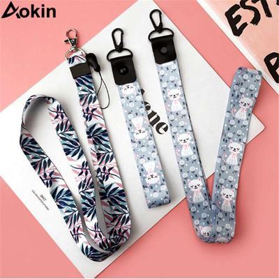 Lanyard Rope Phone Case Hanging Rope Tie Strap Key Id Card Gym Mobile Phone Straps USB Badge Stand DIY Lanyard Protection Lnyard,16