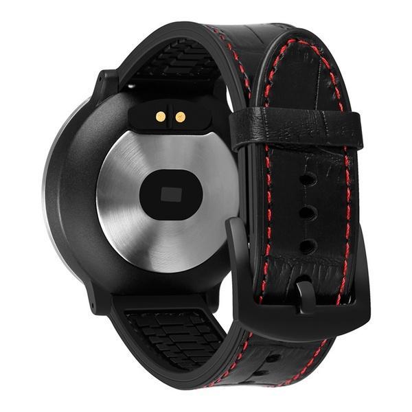 Faixa de saúde Pulseira Relógio Inteligente Controle HR Pressão Arterial Tempo Lembrar Relógio Para Homens Mulheres