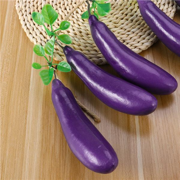 1PC Artificial Vegetable Lifelike Pumpkin Eggplant Kitchen Home Decor Crafts NEW