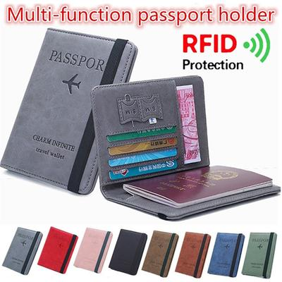 Car Headlight Optics Leather Passport Holder Cover Case Travel One Pocket