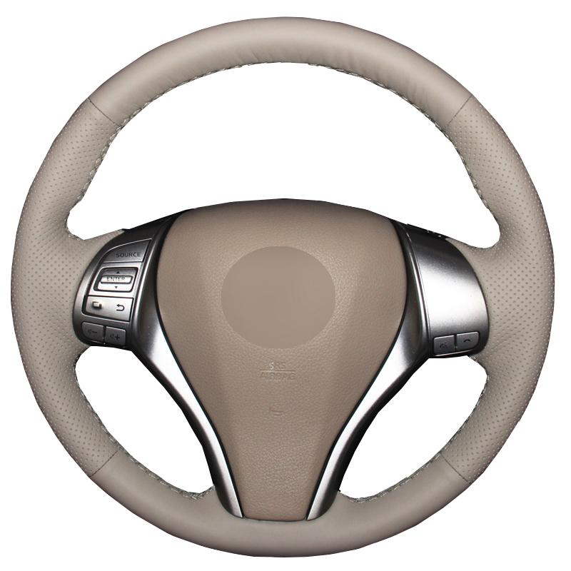 Рука Швейный автомобиль Рулевое колесо Крышка для Nissan Teana Altima 2013-2018 X-Trail 14-2017 Зашкай Разбойник – купить по низким ценам в интернет-магазине Joom
