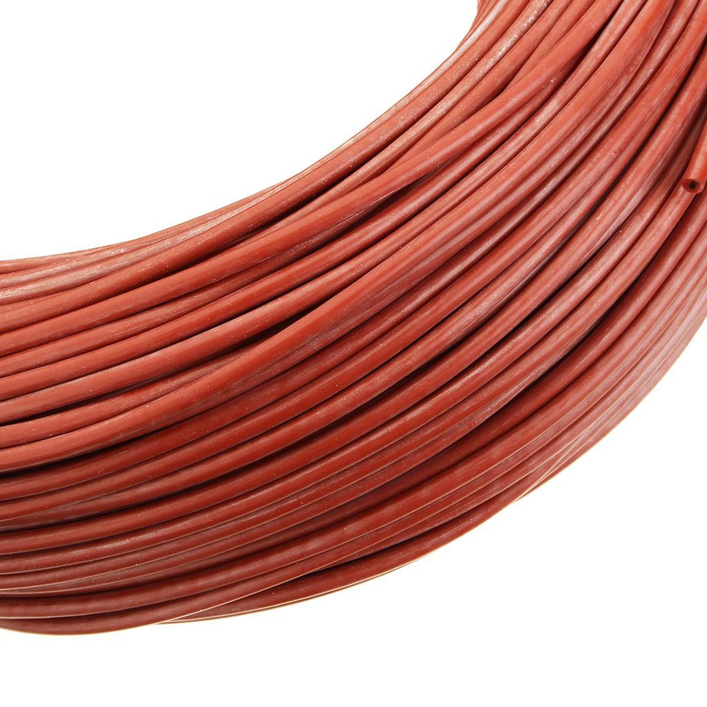 Details about  /100m 12k 33ohm HRAG carbon fiber heating cable 5V-220V floor heating  high