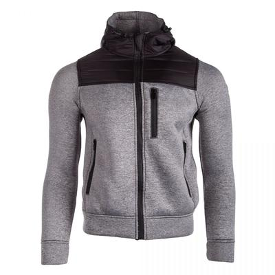 Men Lightweight Hooded Zip Up Solid Windproof Casual Jacket