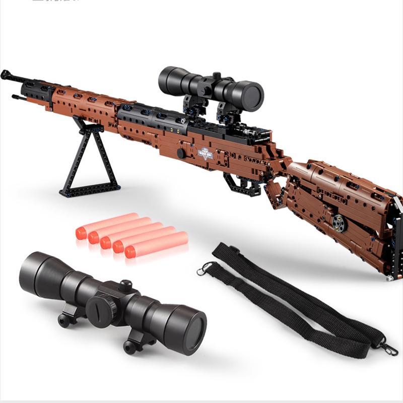 Water Crystal Kids Army Toy Gun Sniper 98K Bullet Blaster Weapon