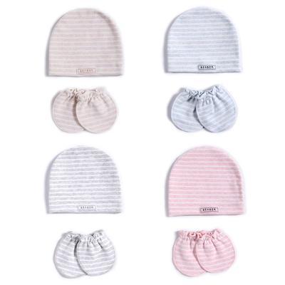 3Pcs bébés Baby Newborn Photography Prop Hat Confort Thermique en Coton Doux Casquette