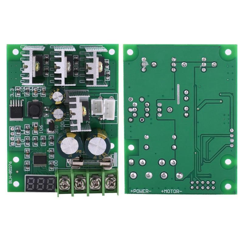 Instrument Parts & Accessories Dc6-60v 30a Digital Led Display 0~100% Adjustable Drive Module Pwm Dc Motor Speed Controller Regulator Dimmer Current Control Cheapest Price From Our Site Measurement & Analysis Instruments