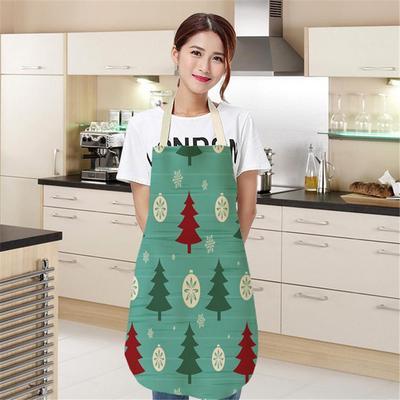 Lady Lovely Cartoon Waterproof Adjustable Kitchen Restaurant Cooking Bib YZ