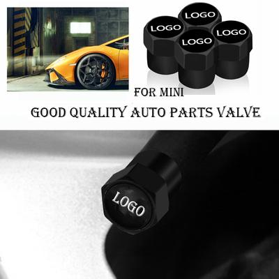 2x Silver Aluminum Car Wheel Tire Tyre Valve Stem Caps For Toyota