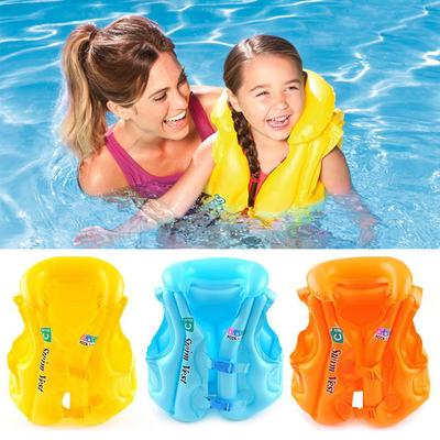 Children Water Sport Jacket Swimming Wear Safety Swimsuit Inflatable Life Vest