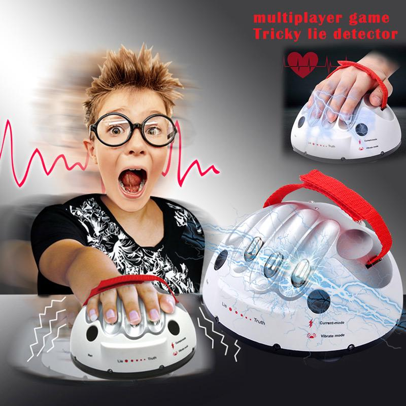 Game Tricky Test Micro Dare Analyzer Truth Shocking Lie Polygraph Party  Detector Electric Playing To